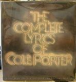 The Complete Lyrics of Cole Porter