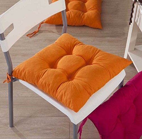 Gillberry Indoor Garden Patio Home Kitchen Office Chair Pads Seat Pads Cushion New (Orange)