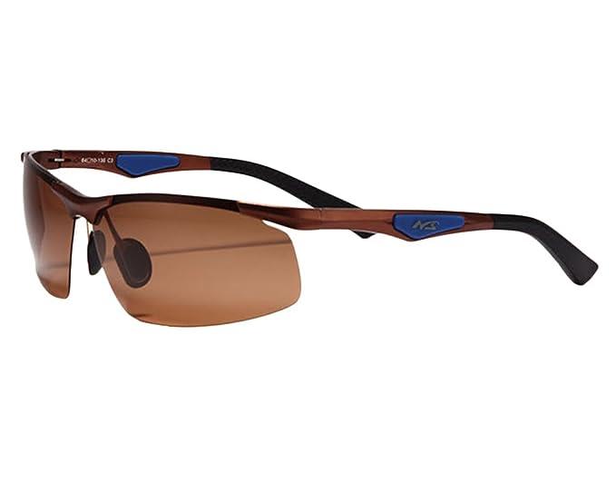 Fahren SonnenbrillenSport Angeln Herren Sport Stil Polarisierte Sonnenbrille Schwarz KwFTP