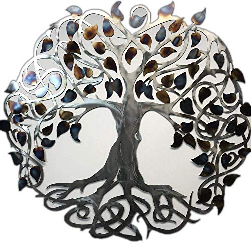 Metal Art of Wisconsin Keltic Tree of Life Metal Art Wall Decor Hanging (3-Foot)
