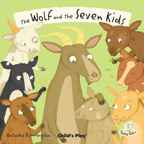 The Wolf and the Seven Little Kids (Flip-Up Fairy Tales) by Natasha Rimmington (Illustrator) (30-Mar-2014) Paperback