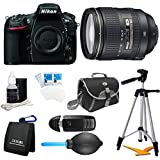 Nikon D810 36.3MP 1080p HD DSLR Camera 24-120mm f/4G ED VR AF-S Pro Lens Bundle