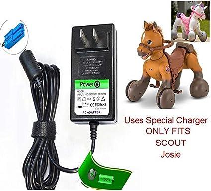 Amazon.com: Kid Trax Rideamals - Cargador de 12 V para Scout ...