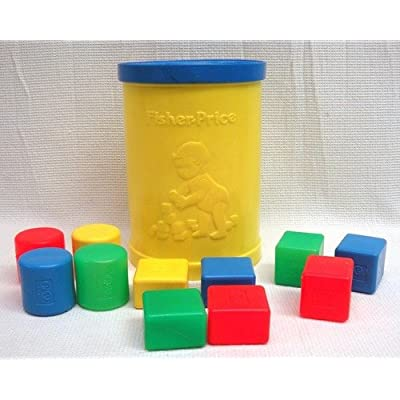 Fisher-Price Vintage Shape sorter: Toys & Games