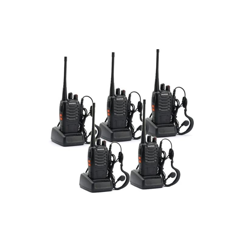 5 Pack BaoFeng BF-888S  Portable Handhel