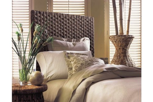 Padma's Plantataion Basket Weave Headboard, Twin - Padmas Plantation Loft