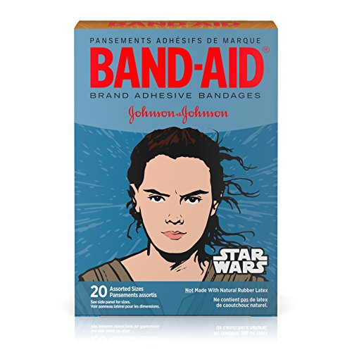 Price comparison product image Band-Aid Star Wars Assorted Adhesive Bandages, 20 Count