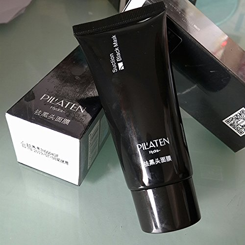 PILATEN blackhead remover,Tearing style Deep Cleansing purifying peel off Black head,acne treatment,black mud face mask 60g