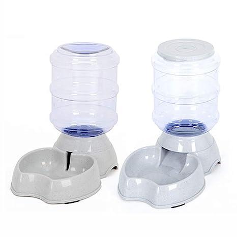 Alimentador automático | Bebedero automático | Alimentador automático de fuentes de agua para perros y gatos