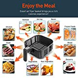 Air Fryer Replacement Basket 5.8QT For COSORI Black