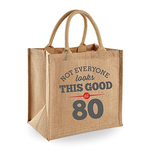 80th Birthday 1938 Keepsake Funny Gift Gifts For Women Novelty Ladies Female Looking Good Shopping Bag