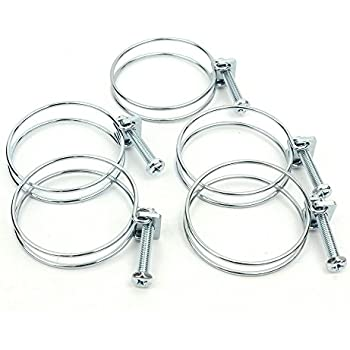 Big Horn 11720PK 2-Inch Wire Hose Clamp, 5-Pack - Vacuum And Dust ...