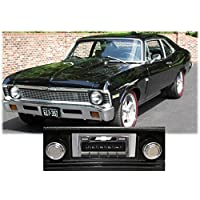 1968-1976 Chevy Nova USA-630 II High Power 300 watt AM FM Car Stereo/Radio with iPod Docking Cable
