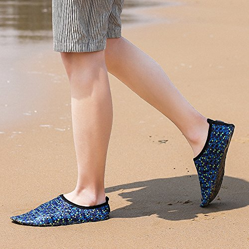 Sneakers Surf Beach Water Aqua Mens Womens Shoes Water Yoga Quick Dry Swim Shoes ZHENZHONG Blue G Sports Dive qzZ7CxnWzw