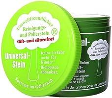 Zielinsky Universal-Stein, grüner Stein, weißer Stein, Putzstein, Reinigungsstein - Haushaltsdose, 1er Pack (1 x 900 g)