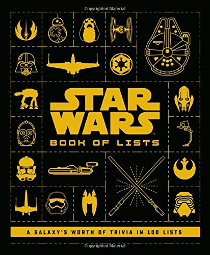 Star Wars Book Of Lists A Galaxy S Worth Of Trivia In 100 Lists Horton Cole 9780760365632 Amazon Com Books
