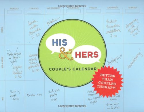 his and hers couples calendar perennial wall calendar amazon co uk