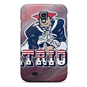 Hot Design Premium FSR3499QvQl Tpu Case Cover Galaxy S4 Protection Case(new England Patriots)