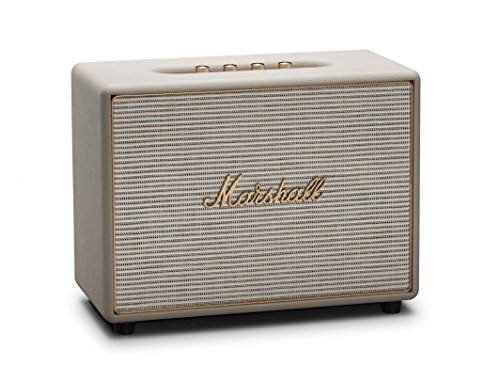 Marshall Woburn - Altavoz inalámbrico con Bluetooth, Crema