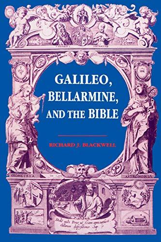 Galileo, Bellarmine, and the Bible