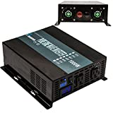 Reliable 1000W Full Power Pure Sine Wave Inverter 12v 120v 60hz Solar System LED Display