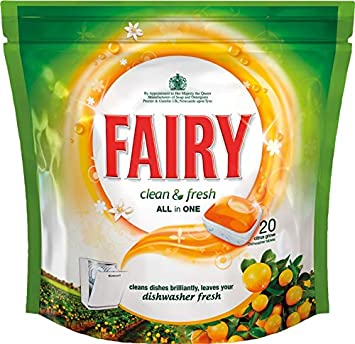 STX_374210 Fairy Clean & Fresh - Pastillas para lavavajillas todo ...