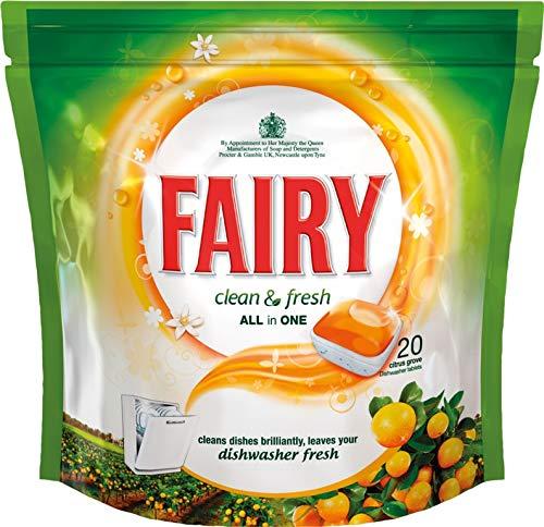 STX_374210 Fairy Clean & Fresh - Pastillas para lavavajillas ...
