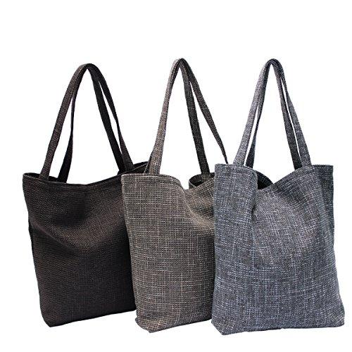 Tasche Schultertasche Reise Shopping Bag, abgefüttert - aus Webstoff Diablo Farbe 05 - Camel 11 - Dark Brown