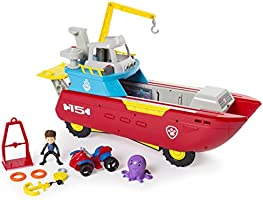 Nickelodeon Paw Patrol - Sea Patrol - Sea Patroller Transforming Vehicle with Lights and Sounds