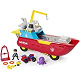 Nickelodeon Paw Patrol - Sea Patrol – Sea Patroller Transforming Vehicle with Lights and Sounds