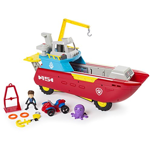 Sea Patroller Transforming Vehicle with Lights and Sounds