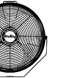 Air King 9312 Powder-Coated Steel Multi-Mount Wall Fan, Black
