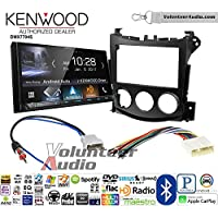Volunteer Audio Kenwood DMX7704S Double Din Radio Install Kit with Apple CarPlay Android Auto Bluetooth Fits 2009-2016 Nissan 370Z