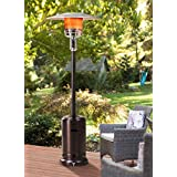 Take full advantage of that well-loved outdoor living space-from one season to the next-with help from this Lawrence patio heater. The exceptionally powerful gas patio heater delivers soothing warmth that makes it easy to keep guests comfortable, eve...