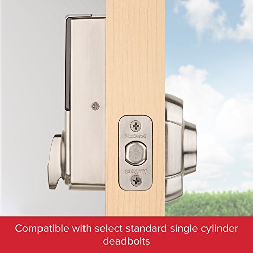 Kwikset 99140-102 Convert Z-Wave Plus Lock with Home Connect, Satin Nickel by Kwikset (Image #1)