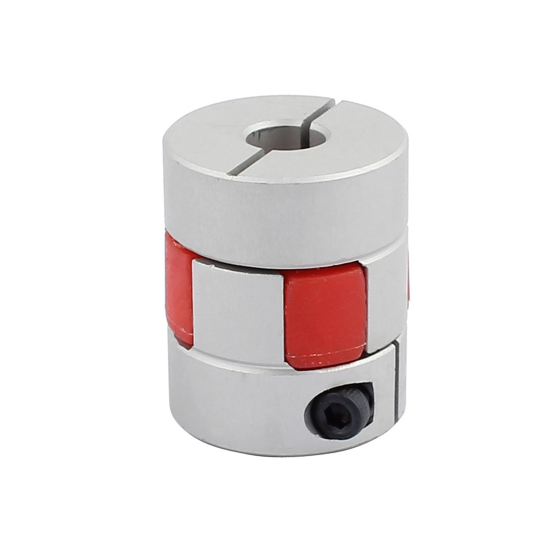 uxcell 5mm to 8mm Shaft Coupling 30mm Length 25mm Diameter Motor Coupler Aluminum Alloy Joint Connector for DIY Encoder