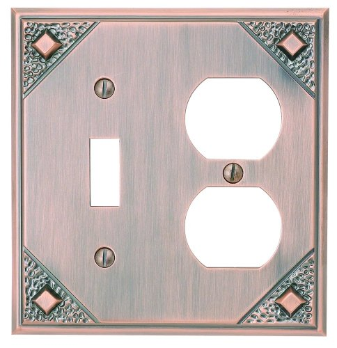 Atlas Copper Switchplate - 6