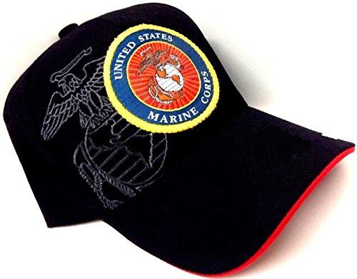 Used, Black Round Logo Marines USMC United States Marine for sale  Delivered anywhere in USA