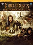 The Lord of the Rings: Instrumental Solos- Piano Accompaniment