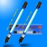 11W US Plug Waterproof IP68 UV Sterilizer light, Aquarium Water Clean Lamp Submersible Sterilization for Fish Tank Filter Pump (11W)