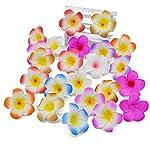 Ytb-home-Artificial-Plumeria-20Pcs-Foam-Frangipani-Flower-Artificial-Silk-Fake-Egg-FlowerOrangeXL