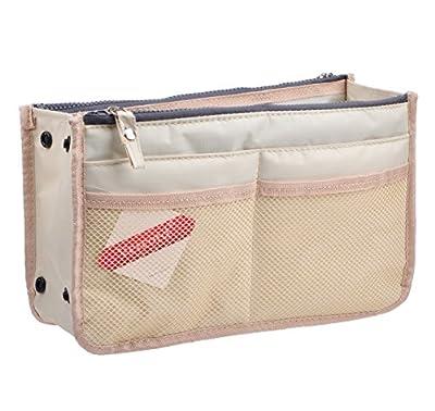 Vercord Updated Purse Handbag Organizer Insert Liner Bag in Bag 13 Pockets 3 Size