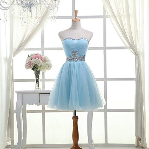 CoutureBridal - Vestido - Noche - para mujer azul claro