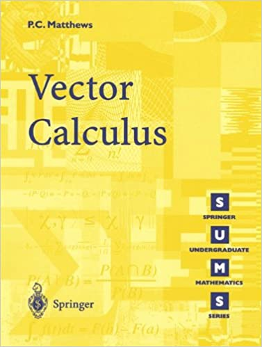 Vector calculus paul c matthews 8601200929386 amazon books vector calculus corrected edition fandeluxe Gallery
