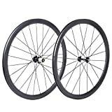 Best Carbon Wheels - bikewish Bicycle Road Racing Wheels 700c Carbon Clincher Review