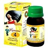 Blooume 4 Biohair Drops 30ml for Hair Loss, Hair thinning Treatment Lots of 3