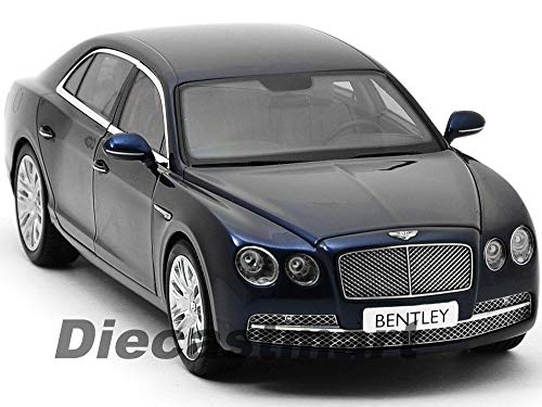 Bentley Flying SPUR W12 Peacock Blue 1:18 DIECAST Model CAR KYOSHO 08891PC ()