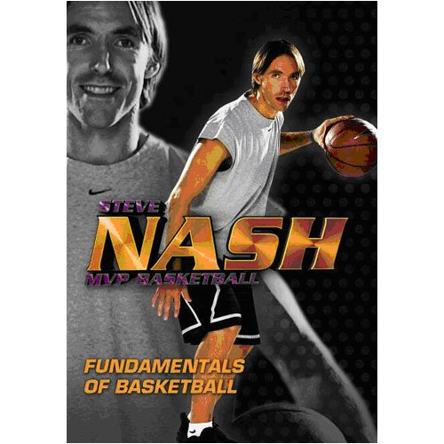 Varsity Films Steve Nash Mvp Fundamentals Of Basketball  2 Dvd Set