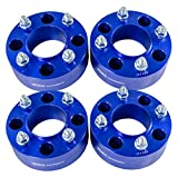 4pcs 2'' 4/110 4x110 ATV Wheel Spacers for Honda Polaris Kawasaki Yamaha Rhino Grizzly Suzuki (Blue)