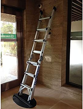 Extensión escalera tapón tope antideslizante alfombrilla antideslizante suave goma escalera telescópica accesorios parte Oh Yeah. 27